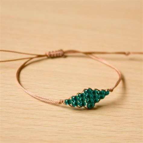 how to make beaded necklace with thread simple bracelets made by customers pandahall