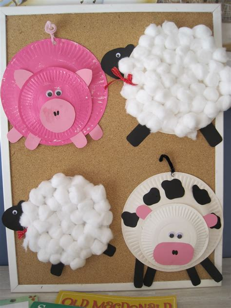 farm crafts for early language skills through play farmyard craft