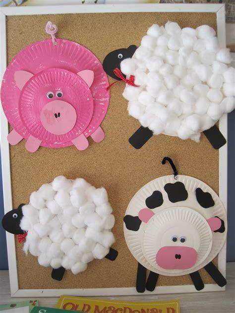 farm animal crafts for early language skills through play farmyard craft