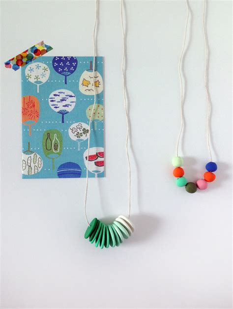 how to use polymer clay to make jewelry make your own colourful polymer clay necklaces tuts