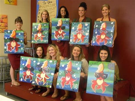 paint with a twist las vegas pretty flowers picture of painting with a twist