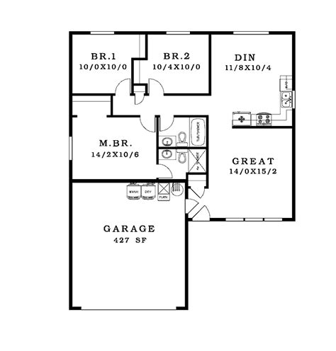 simple house floor plans with measurements simple house floor plans with measurements home design