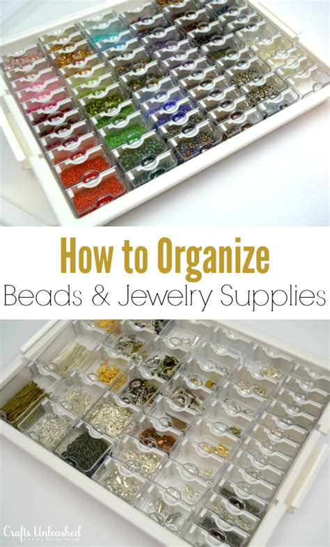 jewelry supply store how to organize jewelry supplies crafts unleashed