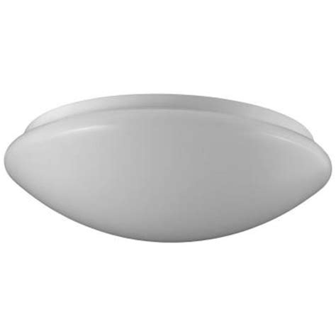 home depot ceiling light fixtures sylvania 1 light flush mount ceiling or wall white led
