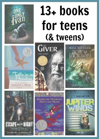 13 Books For And Tweens See