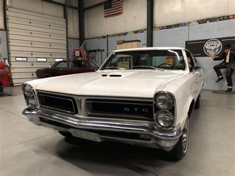 Pontiac 389 Engine For Sale by 1965 Pontiac Gto 389 Engine 4 Speed Phs Documented