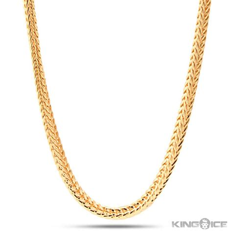 gold chain for jewelry k gold chain necklace for mm mens k yellow gold plated