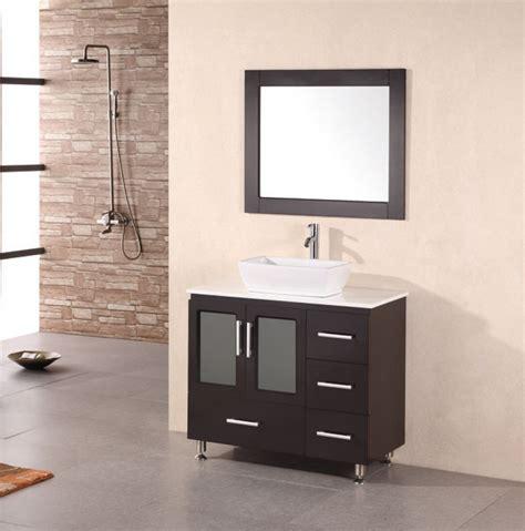 bathroom vanity sinks modern 36 inch modern single sink bathroom vanity in espresso