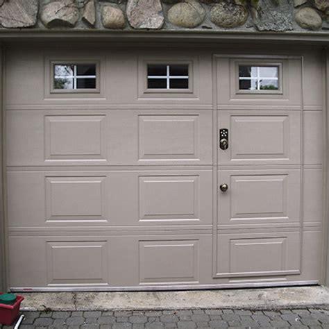 garage door with pedestrian door pedestrian door door doctor