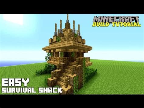 how to make a small house minecraft how to build a small survival house tutorial