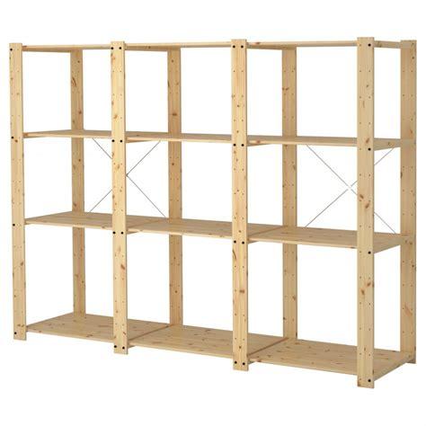 wood shelves ikea ikea garage shelving decor ideasdecor ideas