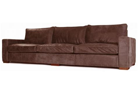 large leather sofas rustic leather sofa battersea rustic leather large sofa
