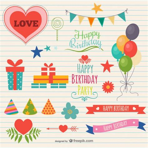 decoration images free birthday decorations vector free