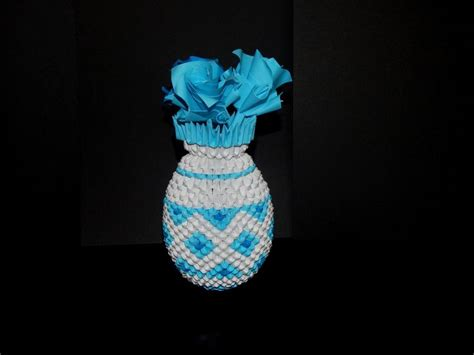 3d origami vase tutorial 1000 images about my 3d origami collection on