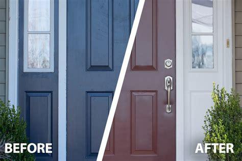 exterior door paint how to paint a front door snapdry door trim paint