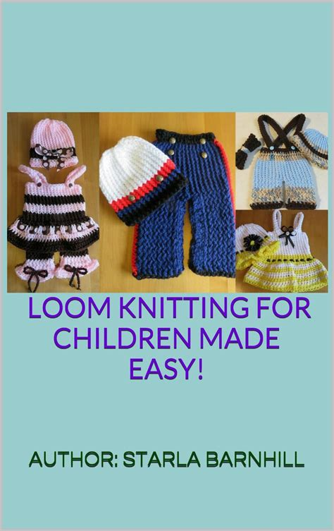 loom knitting books loom knitting pattern book 38 easy no needle designs for