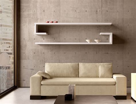 contemporary wall shelves modern shelving home decor