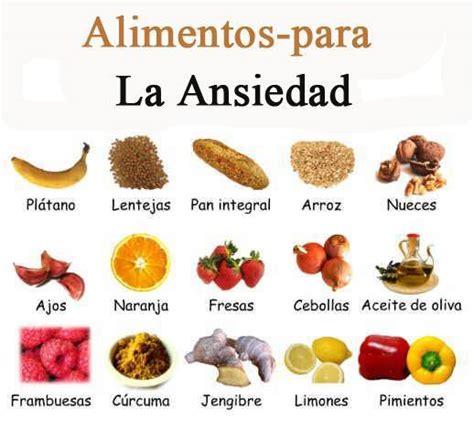 alimentos para la ansiedad alimentos para - Alimentos Contra La Ansiedad