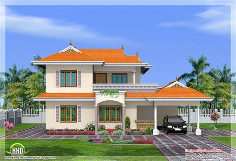 home design for in india 4 bedroom india style home design in 2250 sq kerala