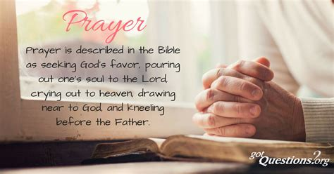 prayer meaning what is prayer