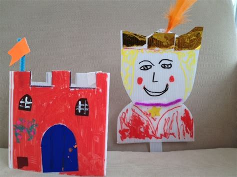 castle crafts for king and his castle my kid craft