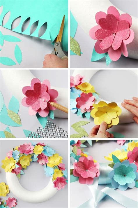 paper craft flower ideas 17 best ideas about easy paper flowers on