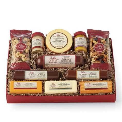 hickory farms gift baskets and cheese gift baskets hickory farms