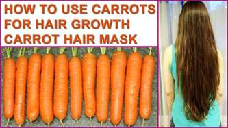 how to use in hair how to use carrots for hair growth carrot hair mask