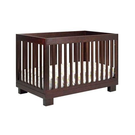 espresso baby crib sets babyletto modo 3 in 1 convertible wood crib set in