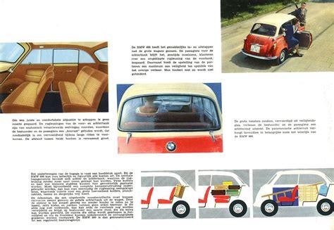 old car owners manuals 1957 bmw 600 user handbook 1957 59 bmw 600 brochure