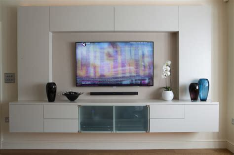 Tv Lounge Extension Transitional Living Room London