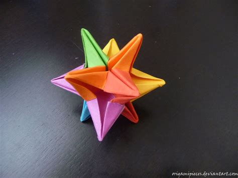 Origami Omega By Origamipieces On Deviantart