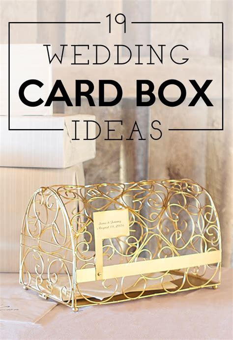 how to make gift card boxes for weddings 19 wedding gift card box ideas