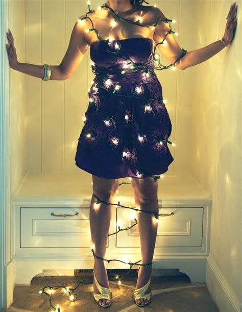 wearing lights 17 best images about things wrapped in lights on