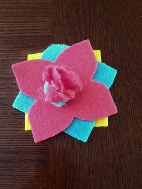 easy felt crafts for easy felt flower craft for from kid made modern