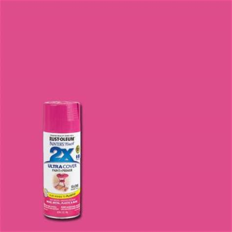 home depot paint pink rust oleum painter s touch 2x 12 oz gloss berry pink