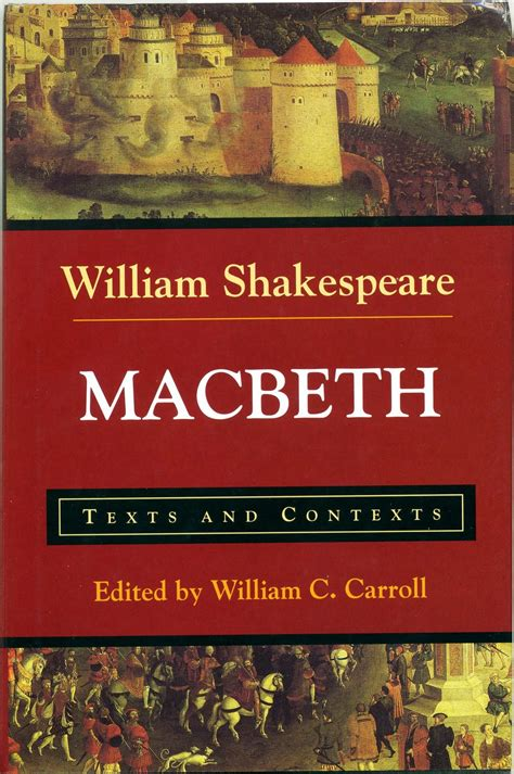 shakespeare picture books a literary odyssey book 36 macbeth