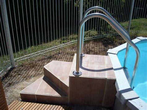 escalier piscine hors sol pas cher intex piscine ronde easy set xcm with escalier piscine hors