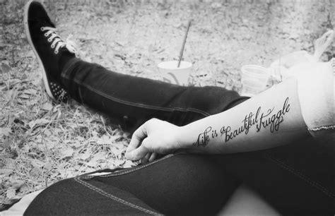 quot life is a beautiful struggle quot tattoo tattoos pinterest