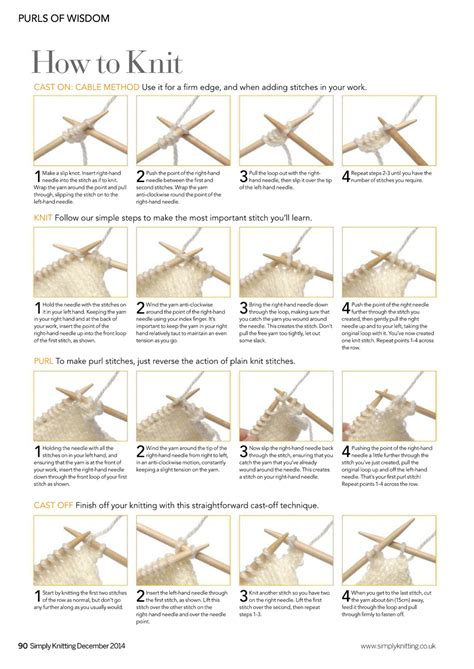 knitting how to cast on how to cast in knitting for beginners crochet and knit