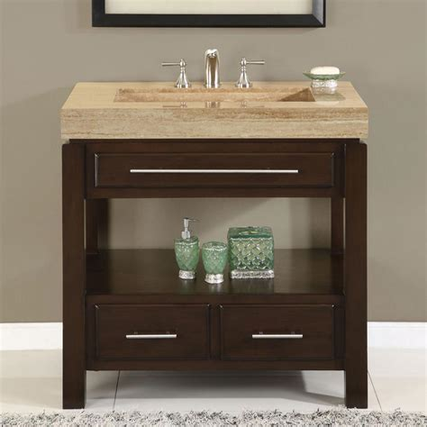 36 perfecta pa 5522 bathroom vanity single sink cabinet walnut finish bathroom