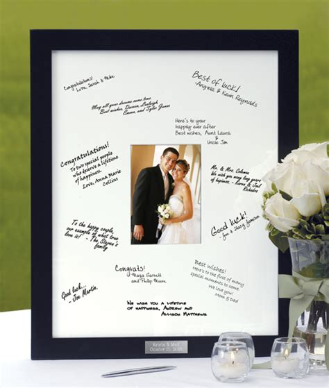 picture frame guest book wedding guest book picture frame mat weddingbee