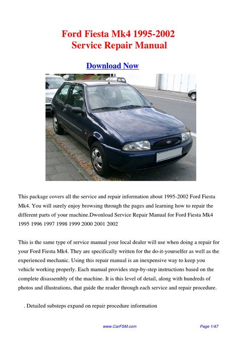 service repair manual free download 2002 ford escort interior lighting download 1995 2002 ford fiesta mk4 service repair manual by gong dang issuu