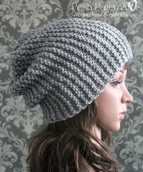 knit an easy hat 1000 ideas about easy knitting patterns on