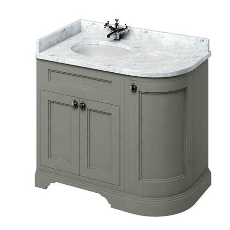 curved bathroom furniture burlington 100 curved vanity unit uk bathrooms