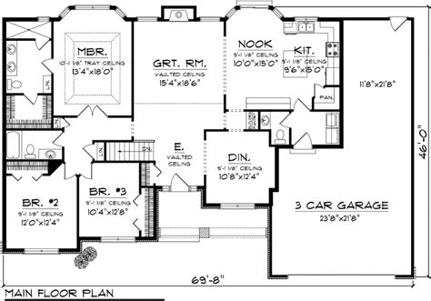 ranch home floor plans plan ranch floor plans house house plans 85851