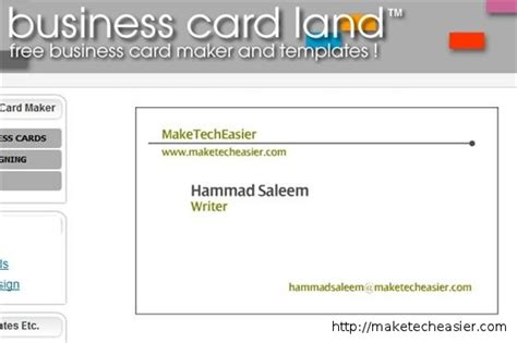 how to make a free business card 6 tools to create business cards