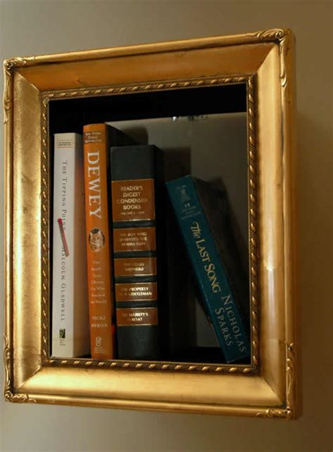 book picture frames book frames frame turns into bookshelf by change of scenery