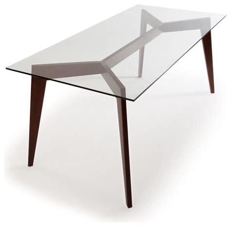 mid century dining tables deco blaze midcentury modern dining table walnut legs and