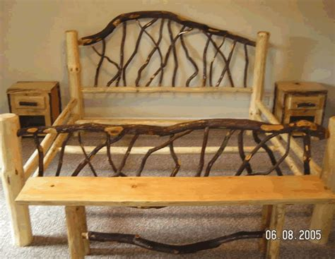 woodworking projects bed frame wood work
